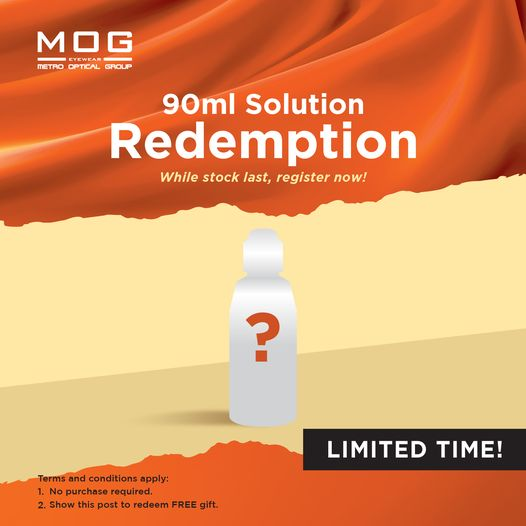 FREE 90ml Contact Len Solution Giveaway 送出免费90ml Solution~
